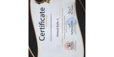 Juara 3 making bed Universitas Sahid